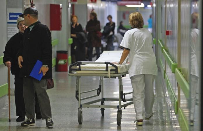 ospedale flebo incidente