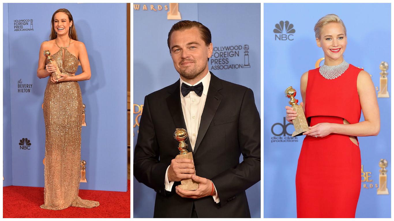 Golden Globes: I Vincitori del 2016