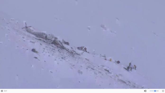 Elicottero Caduto : Elicottero caduto resi noti i nomi delle vittime alcuni
