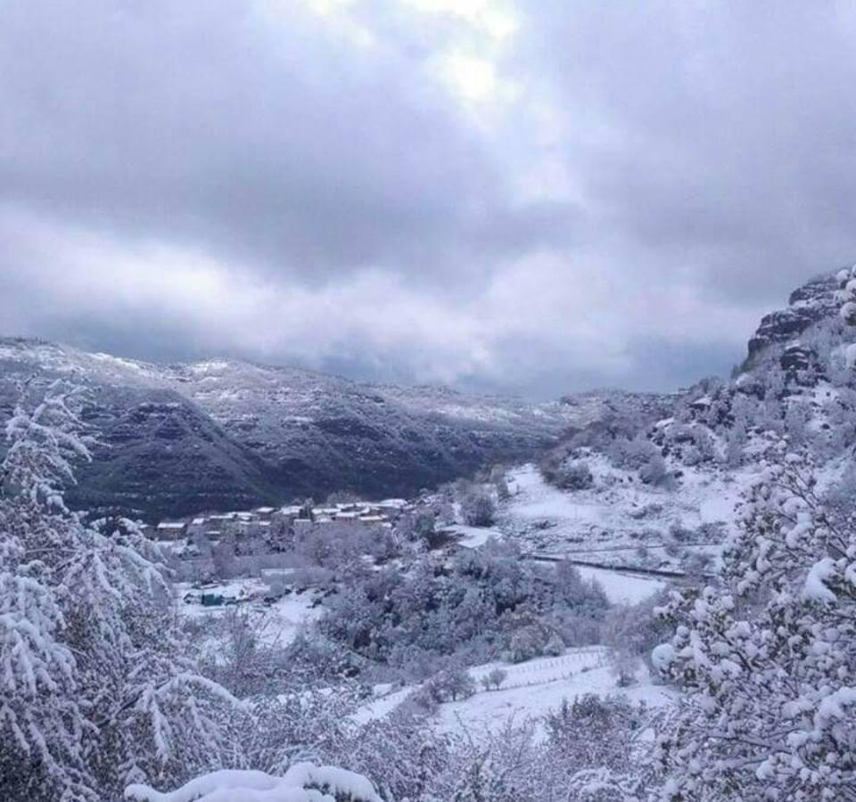 Maltempo Abruzzo, torna il freddo: neve anche in collina