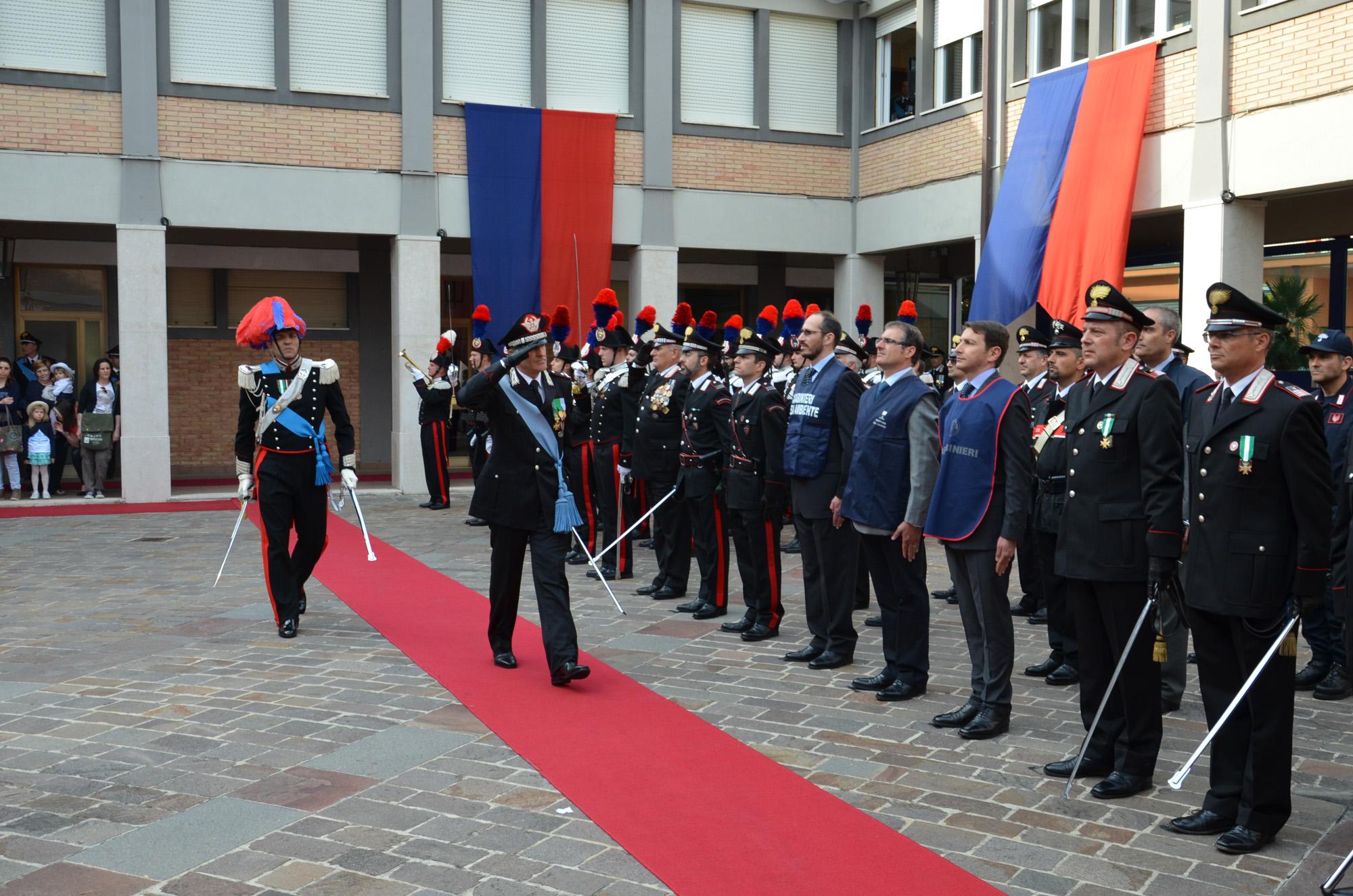 Lunedi 5 giugno il 203^ anniversario di fondazione dell'Arma dei Carabinieri