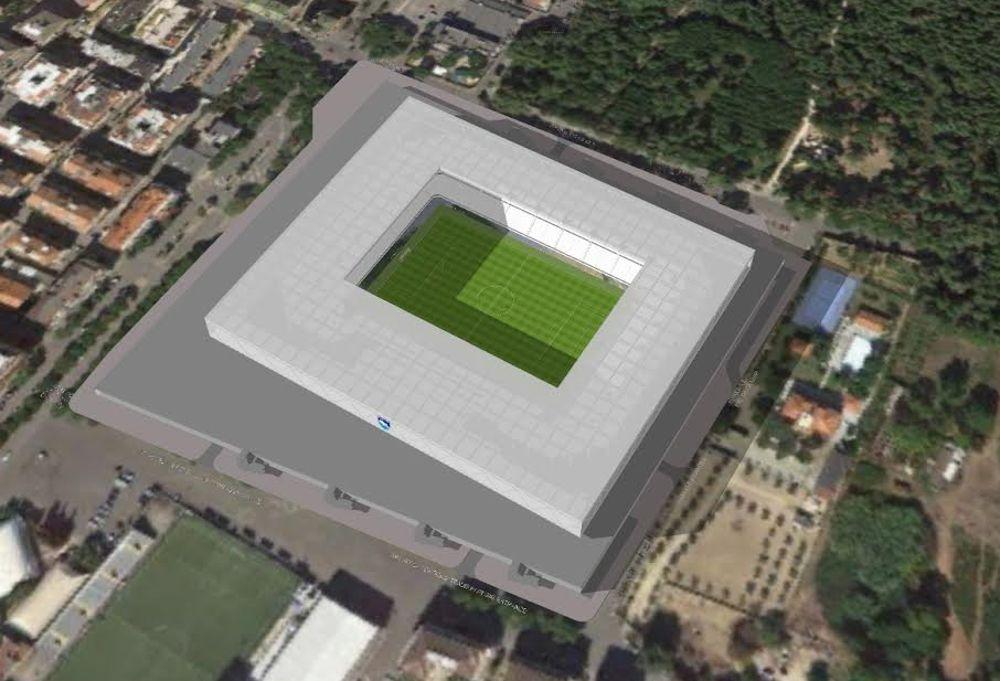 Pescara calcio presentato il progetto del nuovo stadio - Progetto casa pescara ...