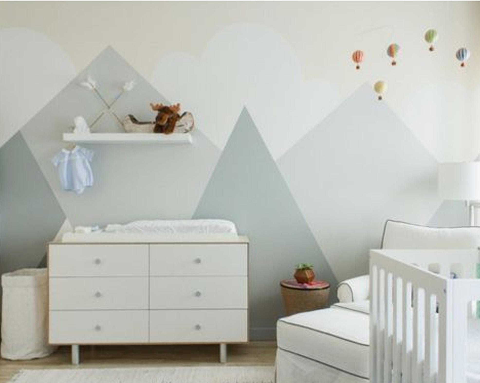 Colori Cameretta Bebè : Arriva la cicogna come preparare la camera del bebè il martino