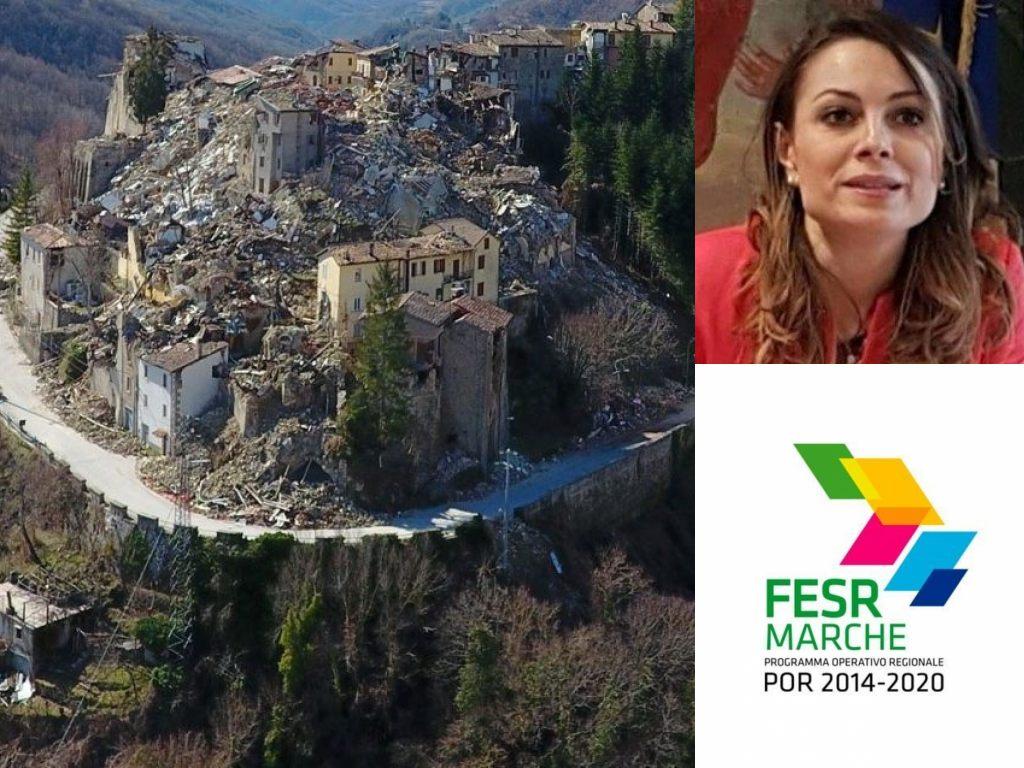 Por Fesr Regione Marche, sisma - Manuela Bora - (Il Martino - ilmartino.it -)