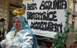 Ascoli Piceno, maschera di carnevale (Il Martino - ilmartino.it -)
