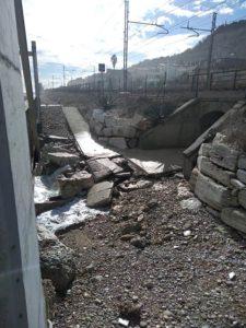Immagine: Grottammare, mareggiata del e febbraio 2019 - danni - (Il Martino - ilmartino.it -)