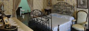Immagine: Pescara, casa natale Gabriele D'annunzio: la camera da letto dei genitori del poeta (Il Martino - ilmartino.it - cDn, M'Art - Arte e Cultura -)