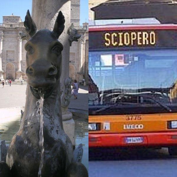 Ascoli Piceno, sciopero dei trasporti (Il Martino - ilmartino.it -)