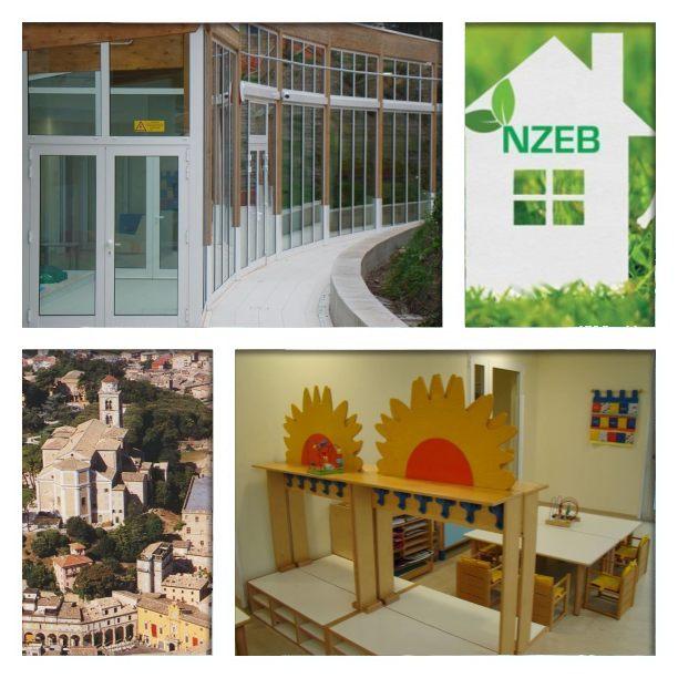 Fermo. Il nido d'infanzia, del quartiere Sant'Andrea, esempio di costruzione a impatto zero (Il Martino - ilmartino.it -)