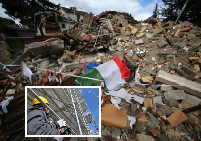 Ricostruzione post-sisma (Il Martino - ilmartino.it -)