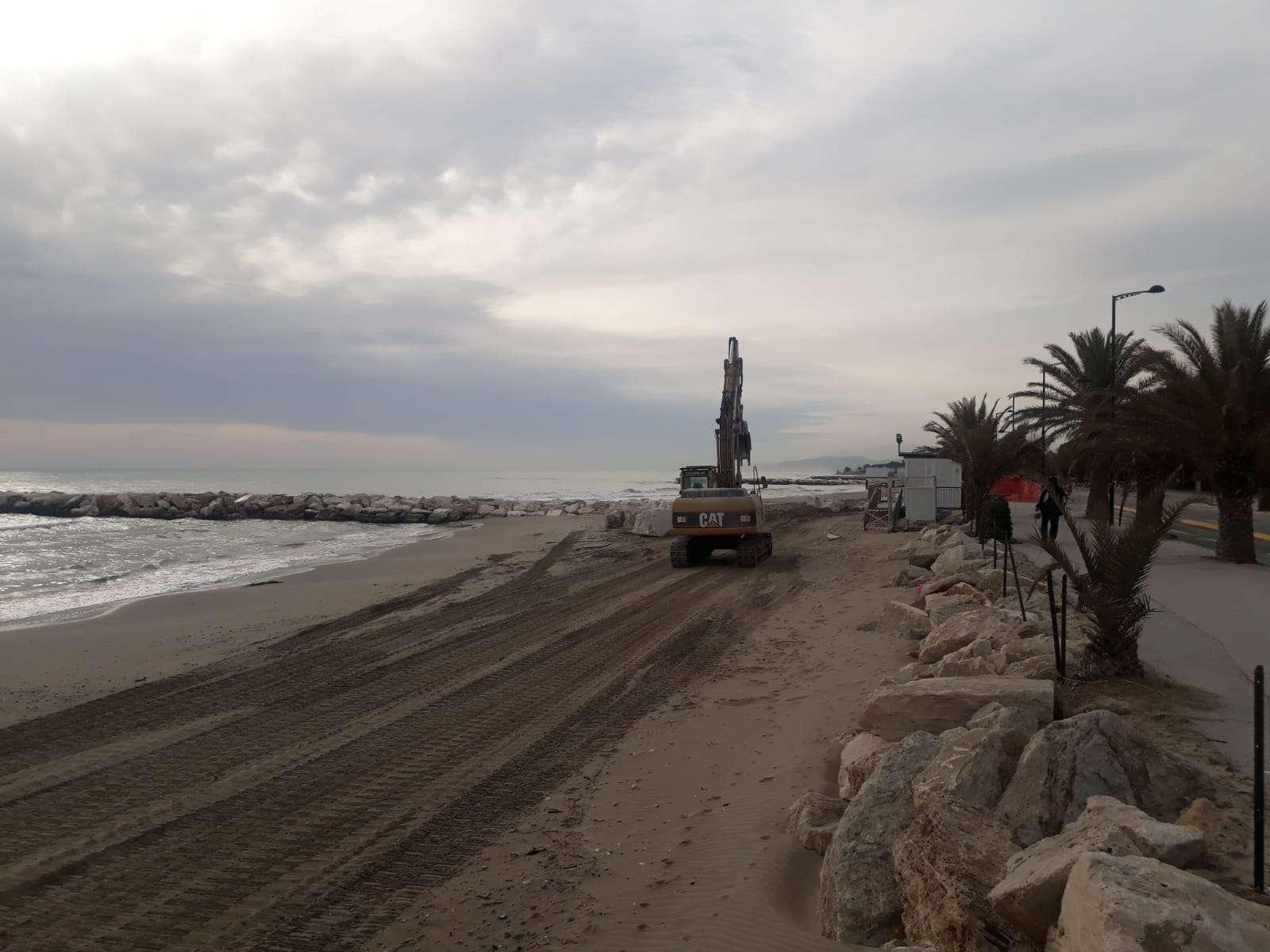 Villa Rosa - erosione costiera - ripascimento spiagge e rifioritura scogliere
