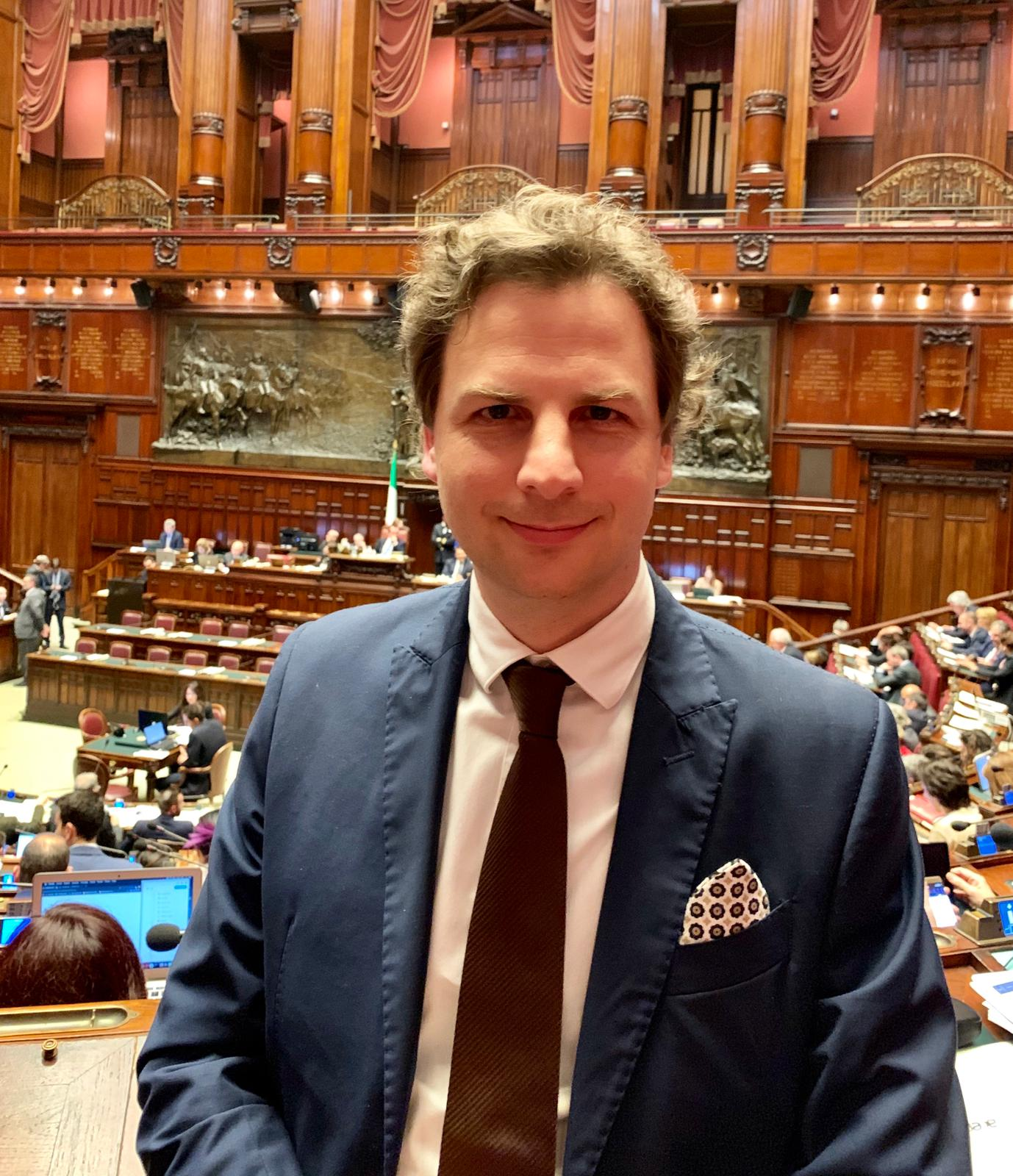 Antonio Zennaro ( deputato M5S) (Il Martino - ilmartino.it -)