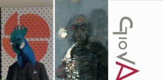 GiovArti, Particolare dell'opera di Giorgia D. Mascitti. Opera. Giancarlo Cazzaniga, Jazz man, 2003. (Il Martino - ilmartino.it -) M'Art - Arte e Cultura -