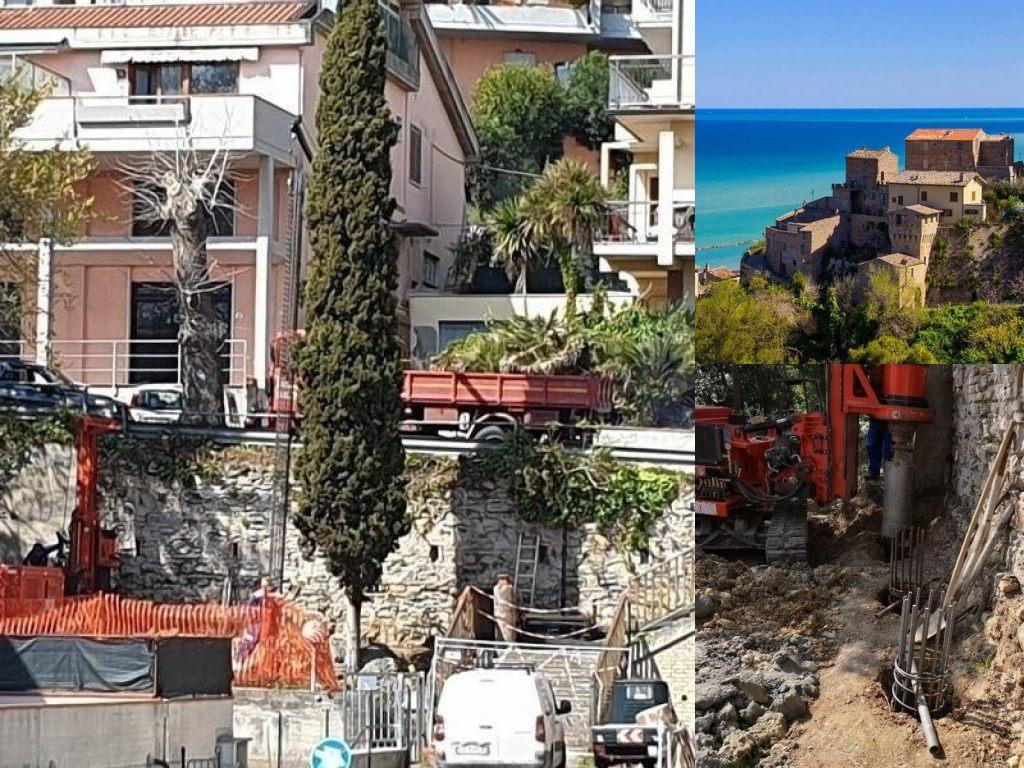Grottammare, la Scalinata di via Toscanini. iniziati i lavori per la sua messa in sicurezza (Il Martino - ilmartino.it -)