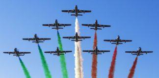 Frecce tricolori (Il Martino - ilmartino.it -)