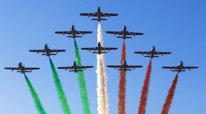 Frecce tricolori (Il Martino - ilmartino.it -)