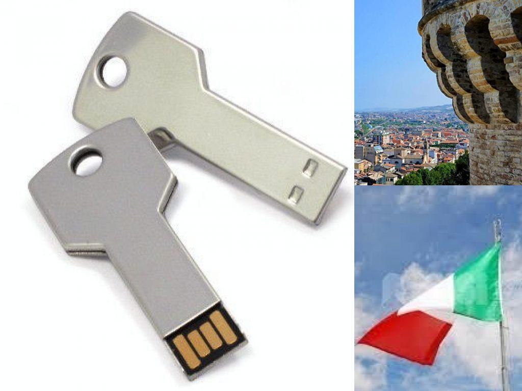 Grottammare, Chiavetta USB. Festa della Repubblica (Il Martino - ilmartino.it -)