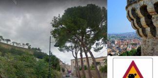 Grottammare, Via Sant'Agostino - lavori in corso - (Il Martino - ilmartino.it -)