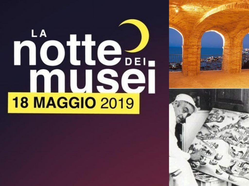Grottammare, 'La Notte dei Musei' 2019. Tarpato (Il Martino - ilmartino.it -) M'Art - Arte e Cultura -
