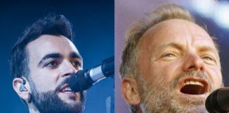 Marco Mengoni e Sting (Il Martino - ilmartino.it -)