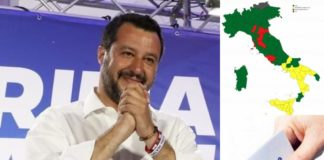 Salvini, Lega. Elezioni Europee 2019 (Il Martino - ilmartino.it -)