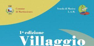 locandina 1 edizione del Villaggio dell'Arte