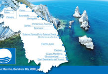 Bandiera Blu Marche 2019 (Il Martino - ilmartino.it -)