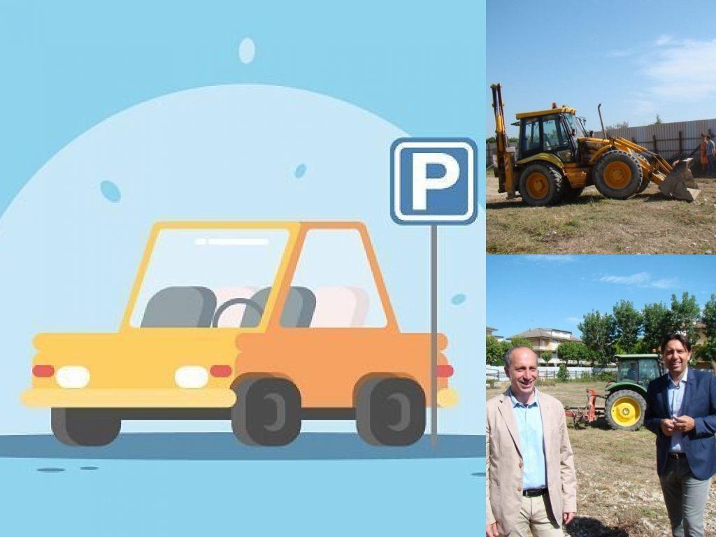 Fermo, Casabianca parcheggio pubblico gratuito (Il Martino - ilmartino.it -)