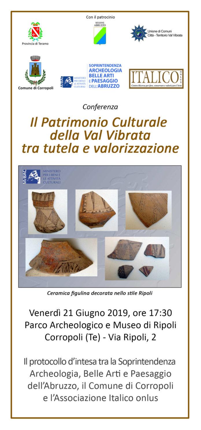 Il Patrimonio Culturale della Val Vibrata, tra tutela e valorizzazione - 21 giugno 2019mod