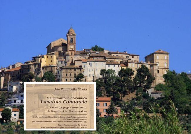 Monteprandone, inaugurazione antico lavatoio comunale (Il Martino - ilmartino.it -)