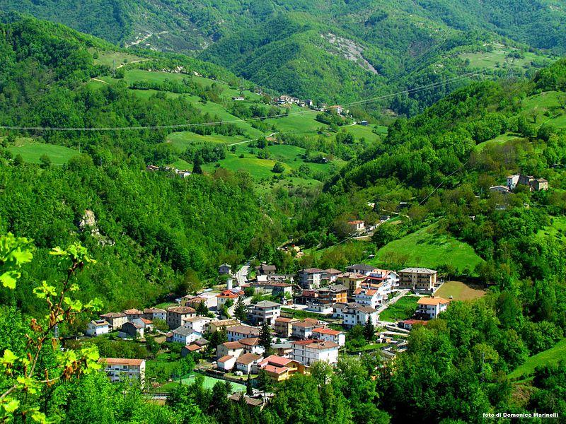 'Panoramica di Valle Castellana', foto di Domenico Marinelli (Il Martino - ilmartino.it -)