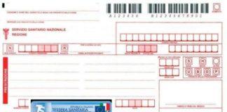 Regione Marche, codice fiscale. Ricetta medica (Il Martino - ilmartino.it -)