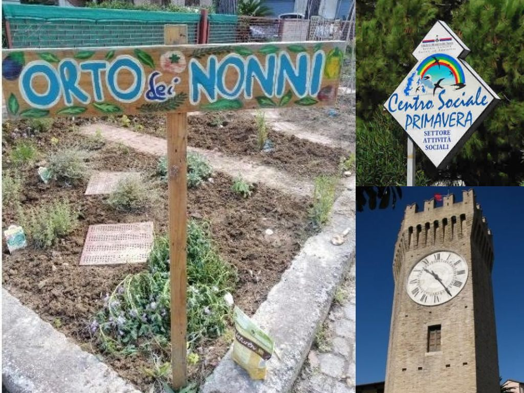 San Benedetto del Tronto, 'L'orto dei nonni'. Centro sociale Primavera (Il Martino - ilmartino.it -)
