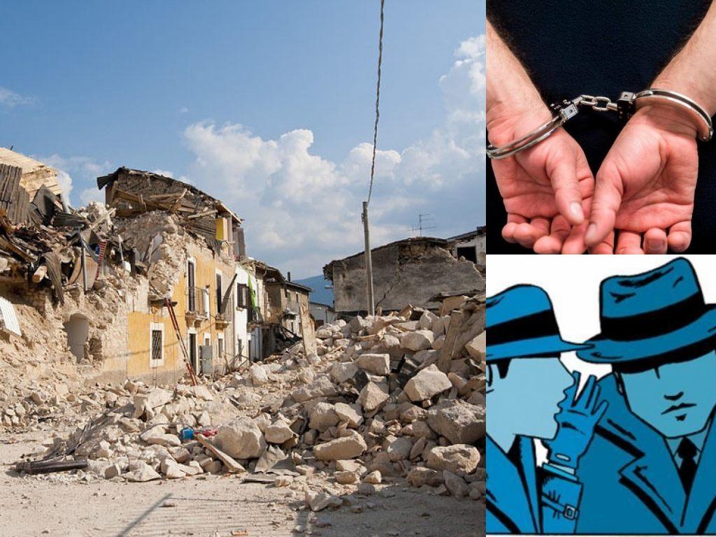 Sisma, Corruzione Macerie. Arresto (Il Martino - ilmartino.it -)