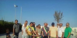 Fermo, inaugurazione del belvedere del Lido San Tommaso (Il Martino - ilmartino.it -)