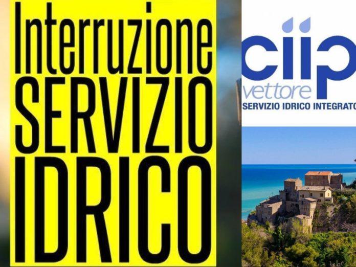 Grottammare, interruzione servizio idrico. Ciip spa (Il Martino - ilmartino.it -)