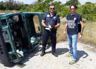carcassa auto cannibalizzata Gadit