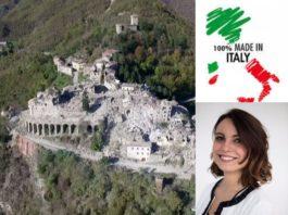 Regione Marche, Arquata del Tronto. Manuela Bora, Made in Italy (Il Martino - ilmartino.it -)