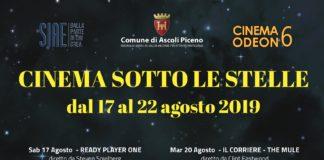 Ascoli Piceno, Cinema sotto le stelle - locandina - (Il Martino - ilmartino.it -)