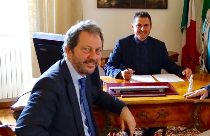 Marco Fioravanti e Giovanni Schiano di Colella Lavina (Il Martino - ilmartino.it -)