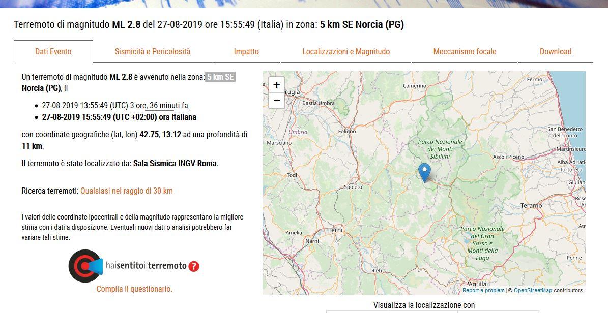 Terremoto Norcia (Il Martino - ilmartino.it -)