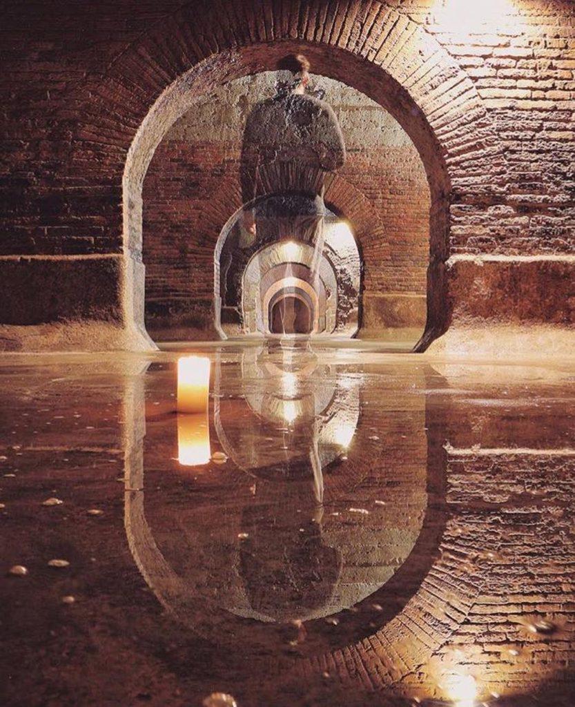 Escape Room nelle Cisterne di Fermo. Foto di @panguizzo da IG (Il Martino - ilmartino.it -) M'art - arte e cultura -