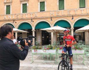 Vincenzo Nibali, Ascoli Piceno - Piazza del Popolo (Il martino - ilmartino.it -)