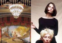 Fermo, Teatro dell'Aquila. Jonny Greenwood e Thom Yorke (Radiohead) (Il Martino - ilmartino.it -) M'Art - Arte e Cultura -