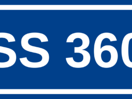 L'Arceviese, Strada Statale 360