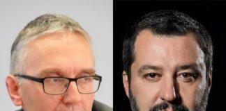 Luca Ceriscioli e Matteo Salvini (Il Martino - ilmartino.it -)