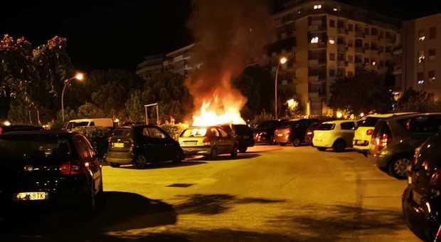 auto bruciata ferro di cavallo