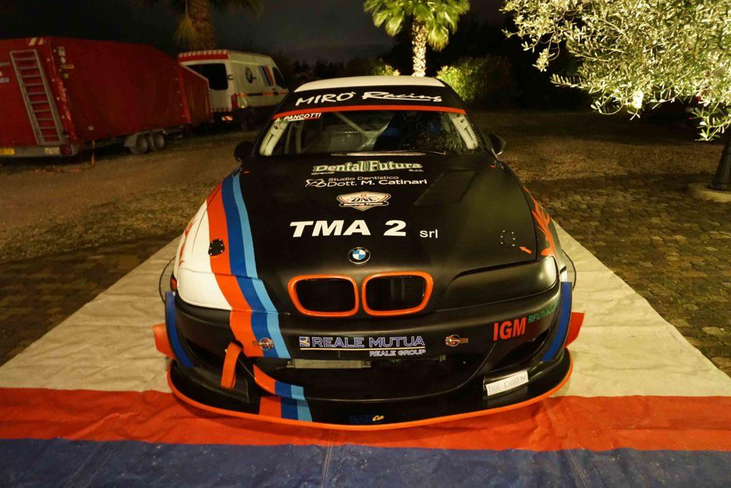 bmw m5 scuderia memo corse front