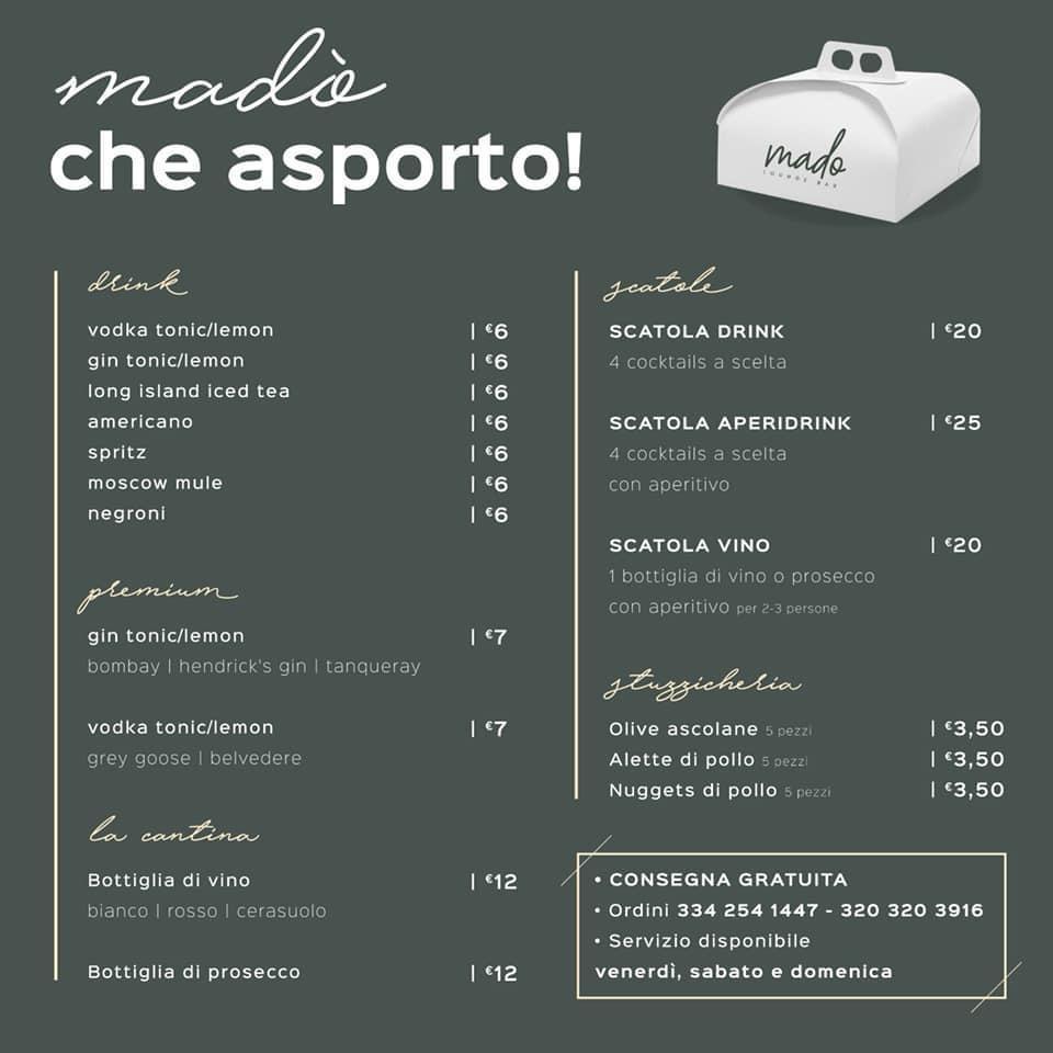 Madò che Asporto Mado Lounge Bar Alba Adriatica