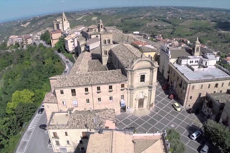 Il centro storico di Bucchianico